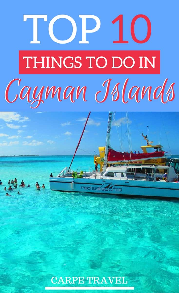 top 10 things to do in Cayman