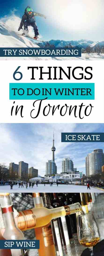6 things to do in winter in Torornto