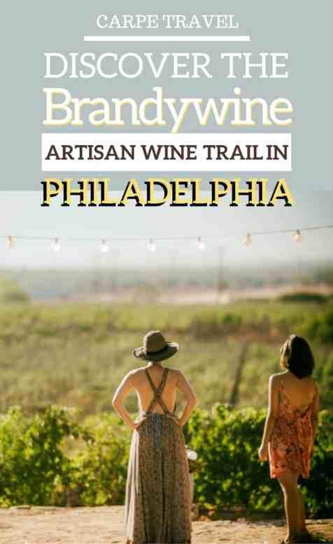Brandywine artisan wine trail in Philadelphia