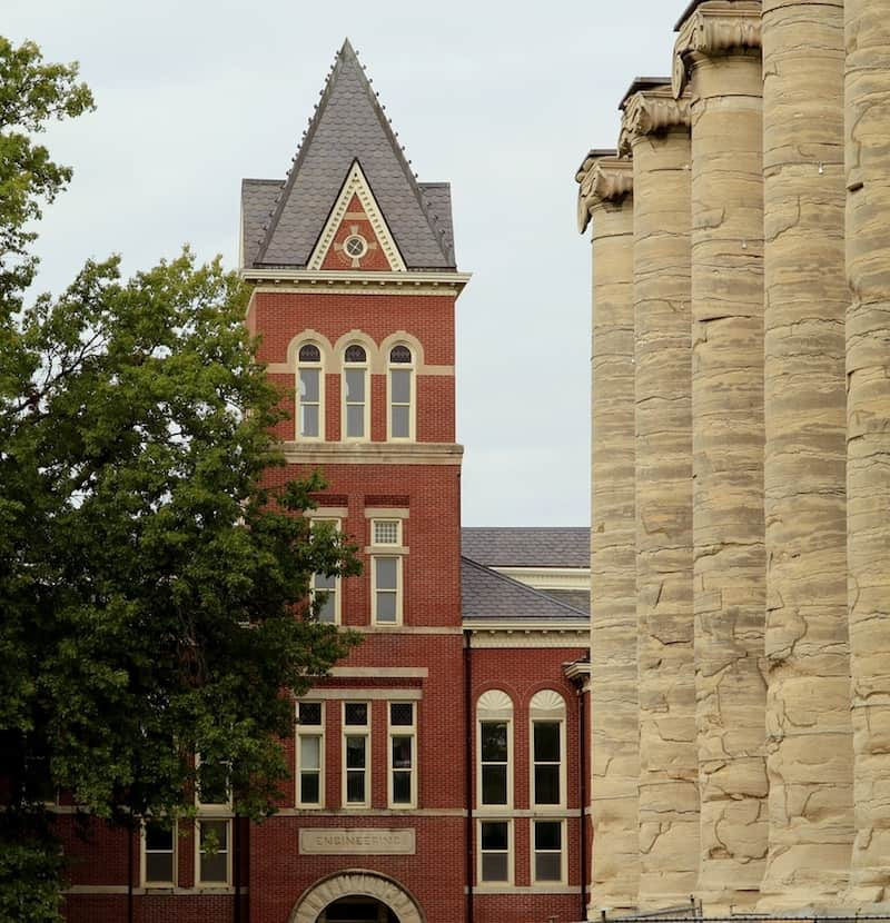 University of Missouri is one of the many fun things to see and do in Columbia, Missouri