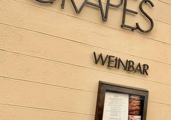 Grapes Weinbar is one of the top wine bars in Munich.