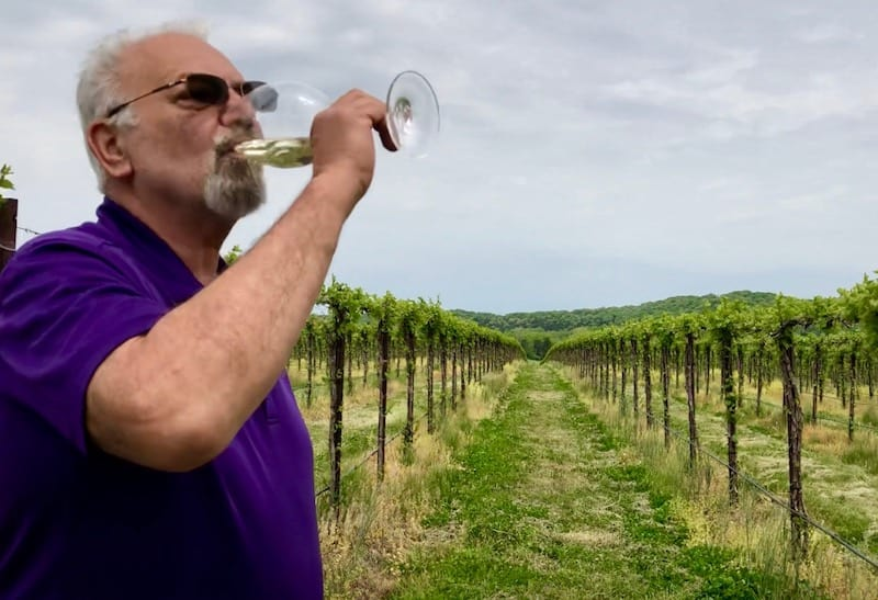 Tony Kooyumjian, owner and winemaker at Montelle Winery in Missouri