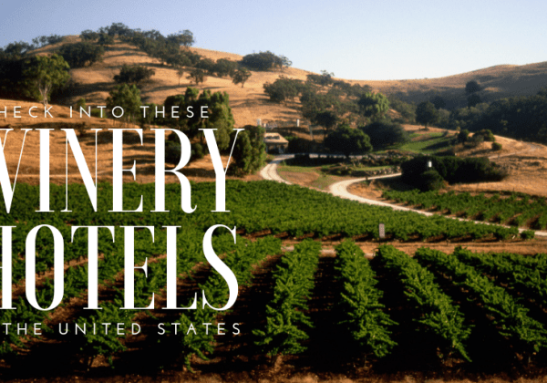 Sip and Stay: Winery Hotels in the United States