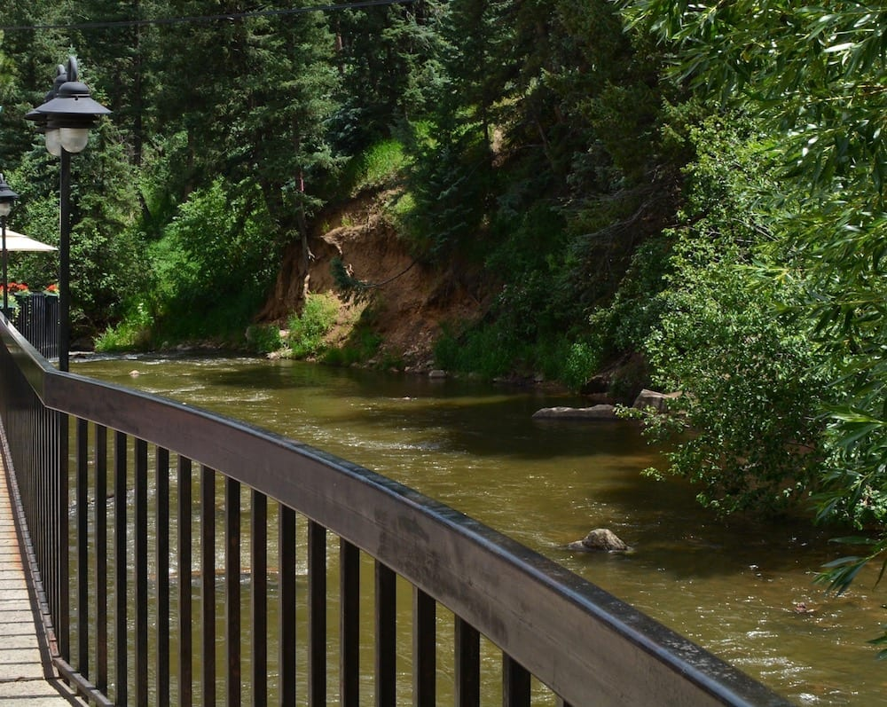 Creekside Cellars in Evergreen in one of the best Colorado wineries to visit