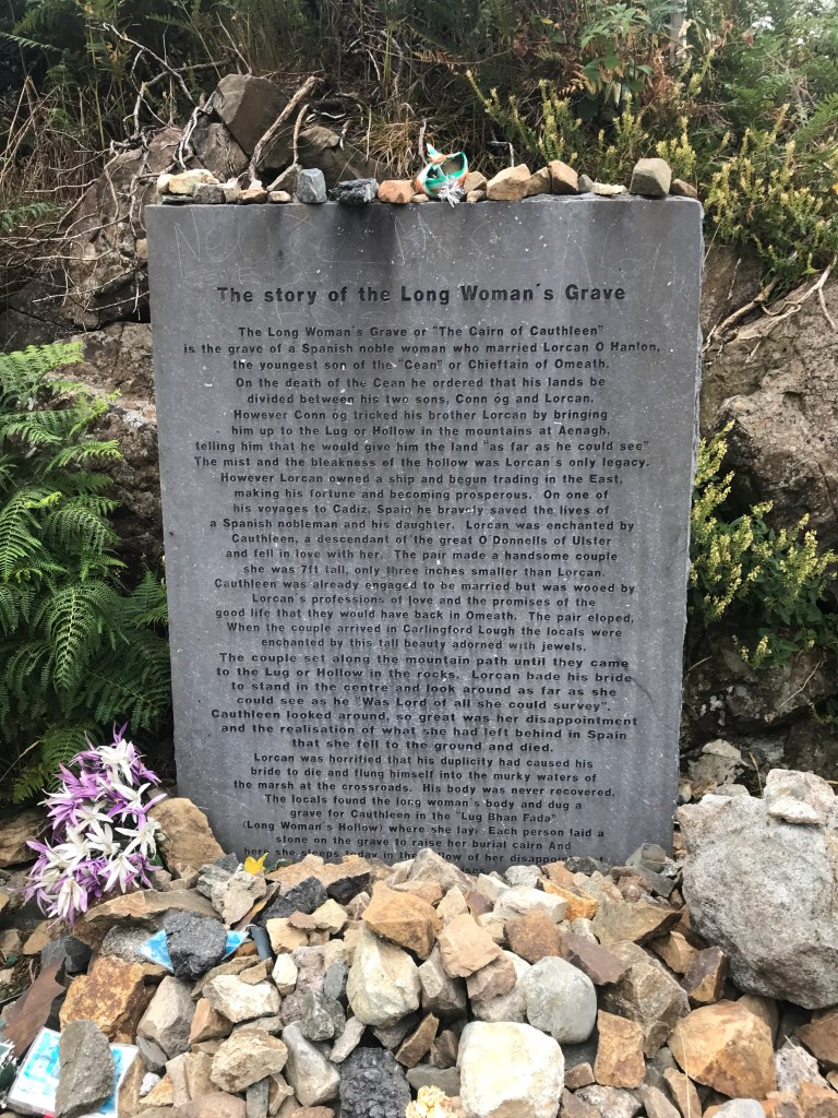 Long Woman's Grave, Cooley Mountains