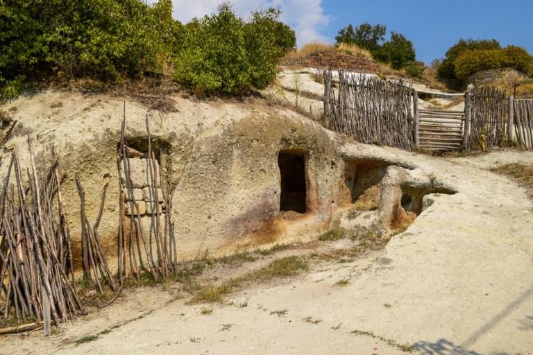 Noszvaj cave Houses