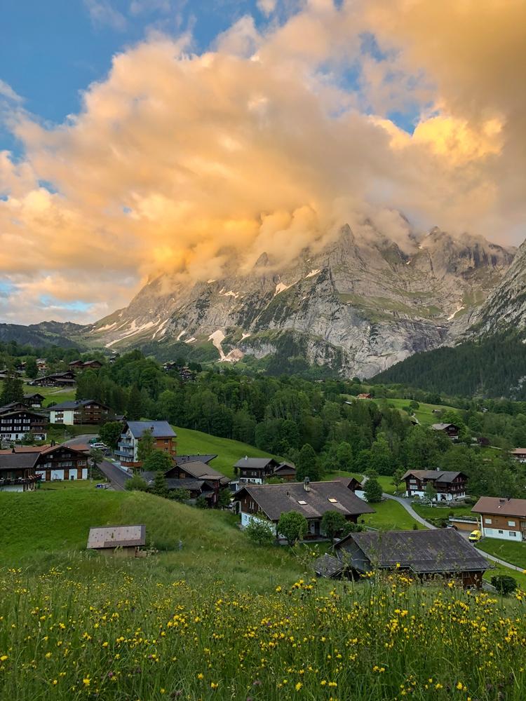 Grindelwald Switzerland in Summer
