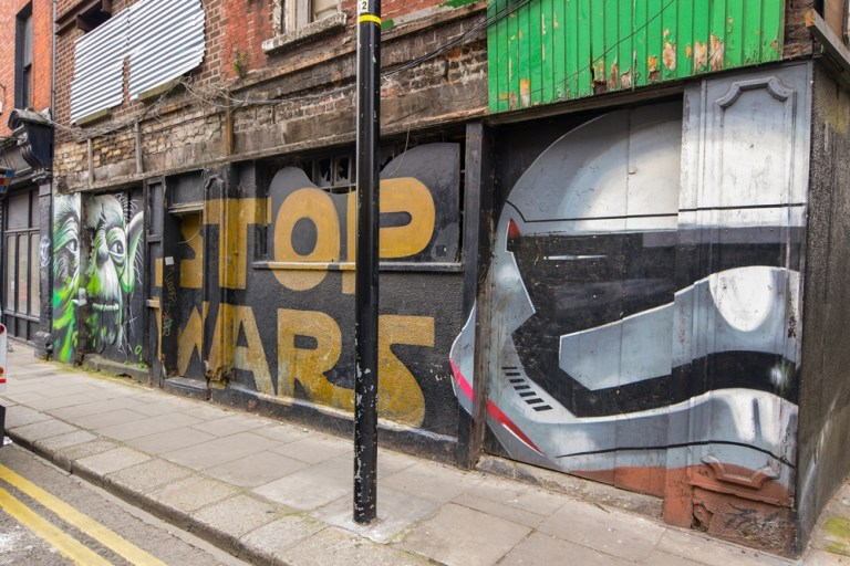 Stop Wars Francis St