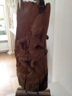 Our wooden Thai buddha - I love it!