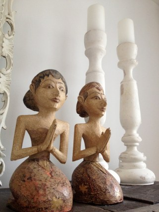 Wooden souvenirs from Bali