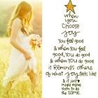 When You Choose Joy.....