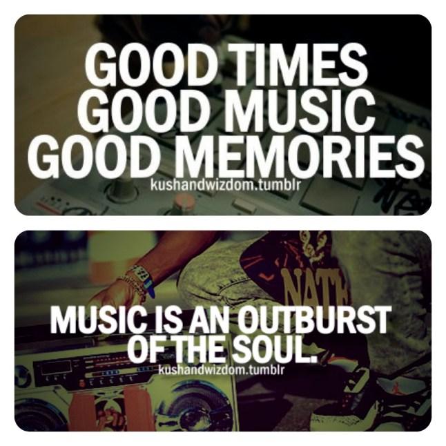 Good Times, Good Music, Good Memories