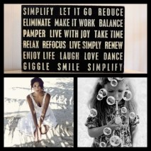 Key actions to Simplify Life :-)
