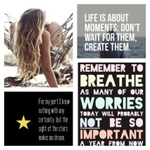 Rules to live By - I love these quotes!