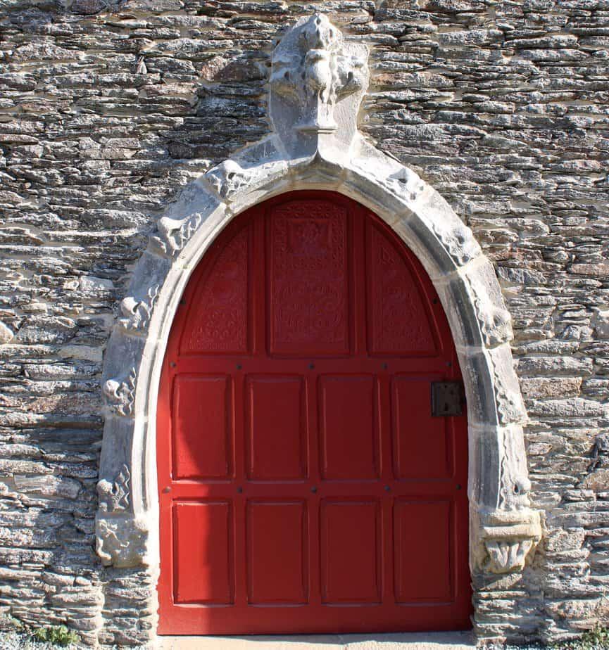 porte rouge, Rochefort-en-terre2