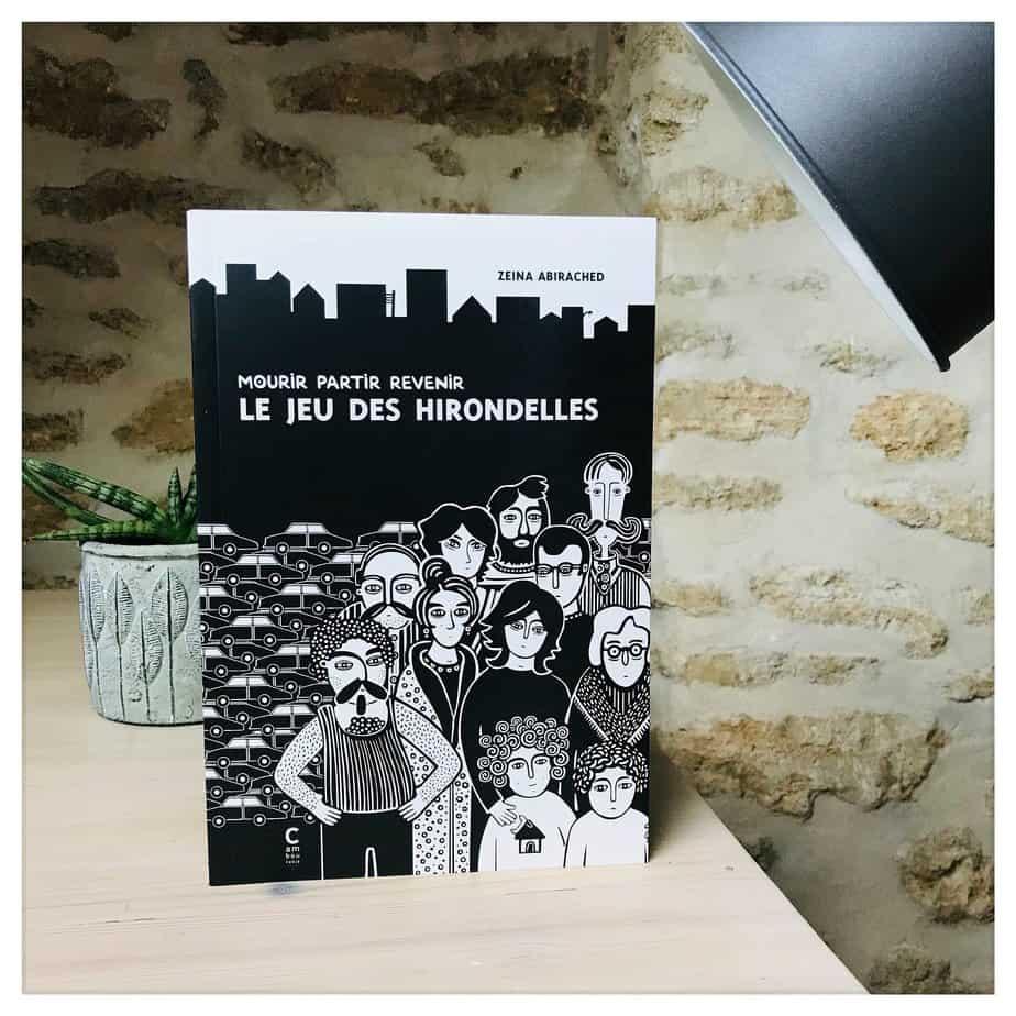 «Mourir partir revenir, Le jeu des hirondelles», Zeina Abirached, 2020, Cambourakis