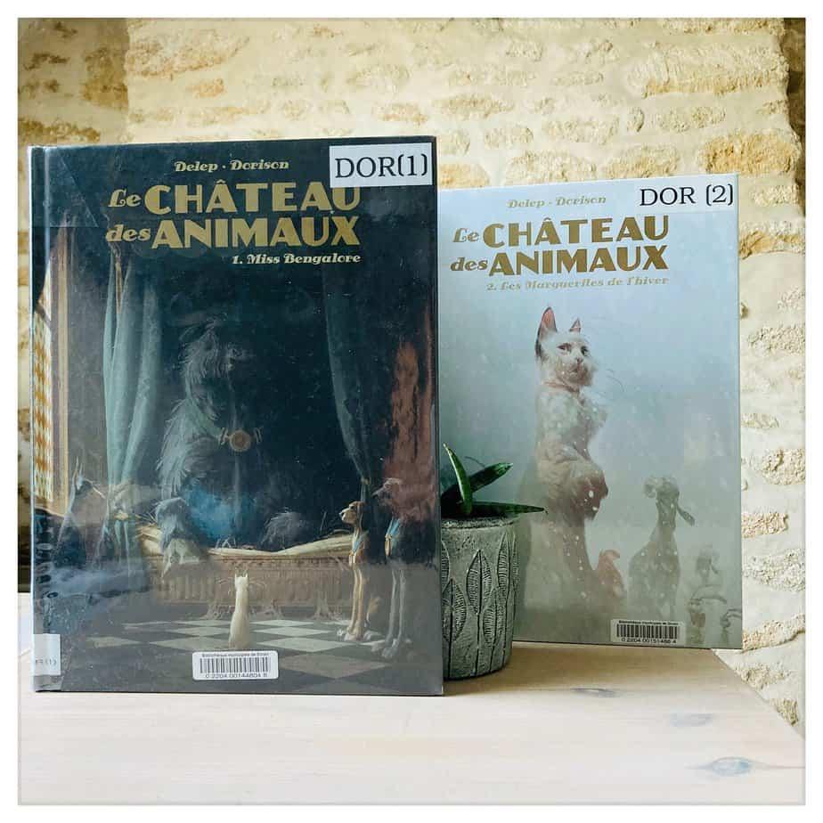 """""""Le château des animaux"""", Delep & Dorison, T1 2019, T2 2020, Casterman"""