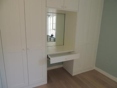 Bespoke Fitted Wardrobe with Vanity Unit