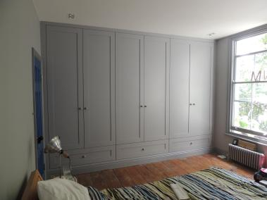 Fitted Wardrobe - Grey