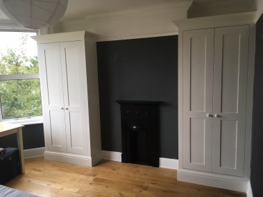 Shaker Style Alcove Wardrobes