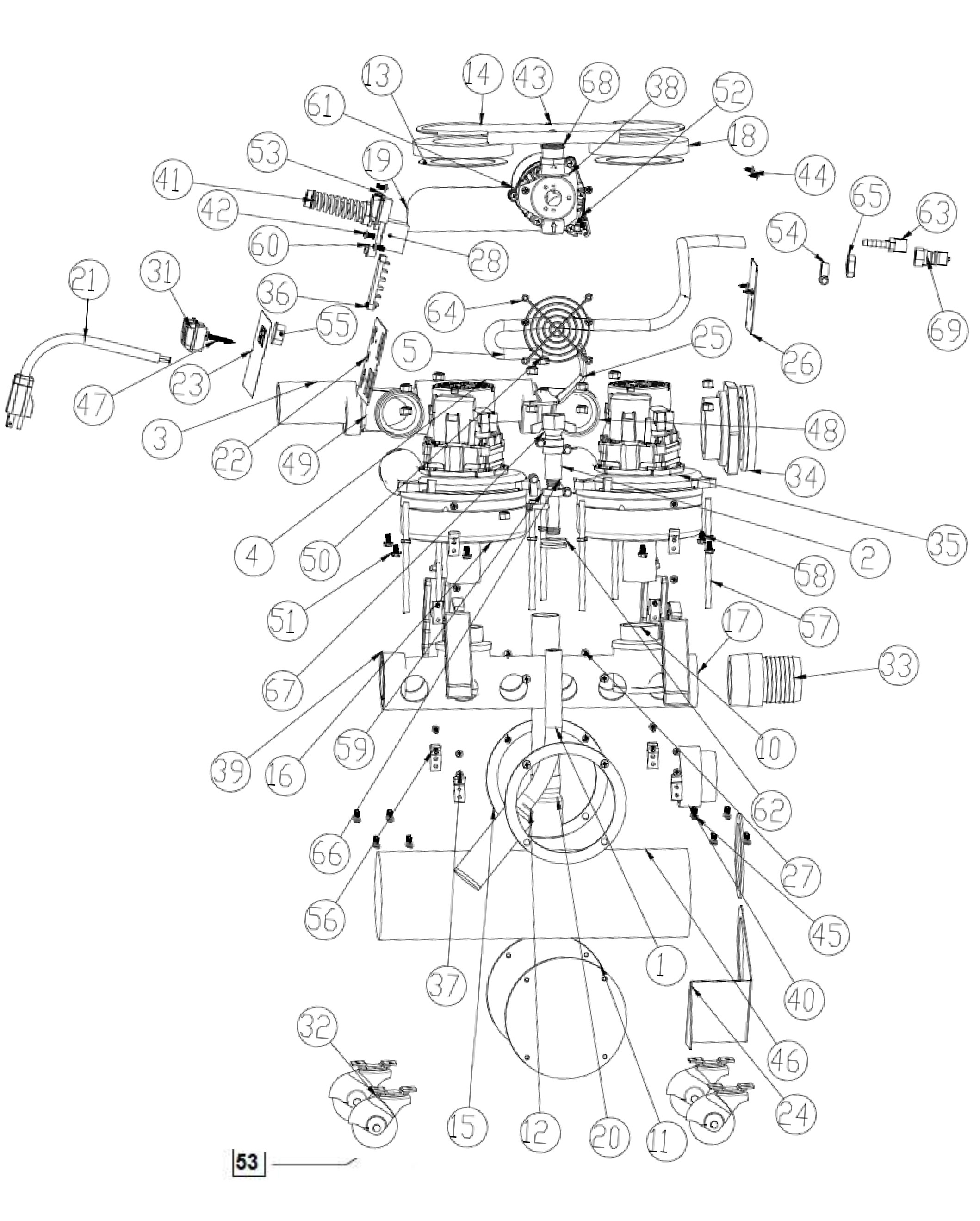 Rotovac Cfx Parts Prosupply Usa