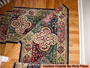 Work Room Services At Carpet Binding Services 301 773 1334   Custom Carpet Stair Treads   Bullnose Carpet   Oak Valley   Dog Assist   Braided Rug   Anti Slip
