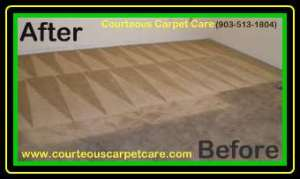 Carpet Cleaning Before and After Image