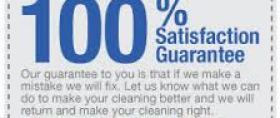 Satisfaction Guarantee from Courteous Carpet Care