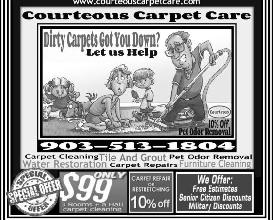 Courteous Carpet Care Coupons