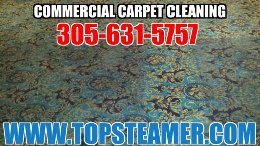 Professional commercial carpet cleaning in Miami