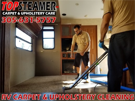 RV Carpet Cleaning in Miami