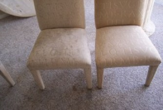 Before & After Upholstery Cleaning
