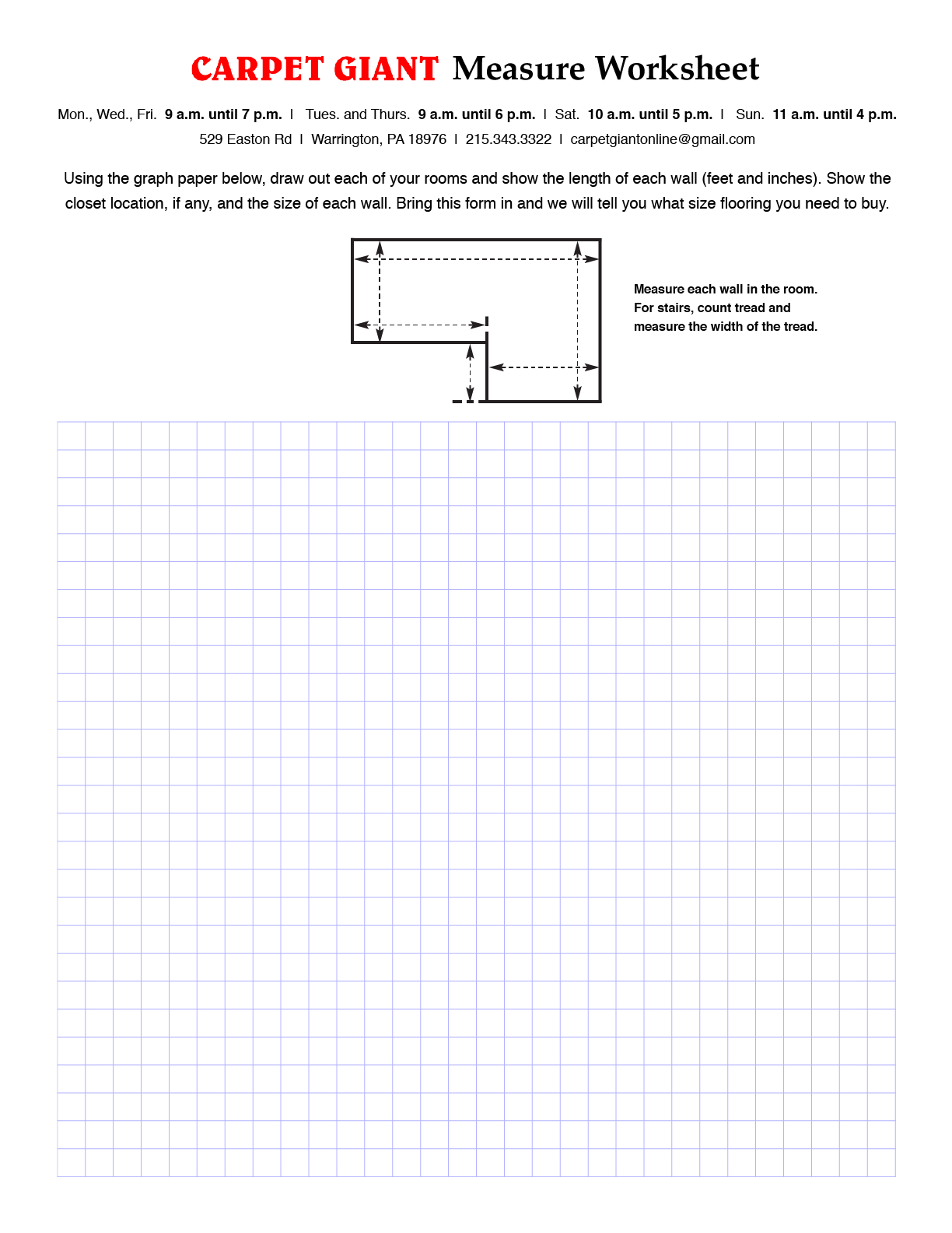 How To Measure Carpet Amp Remnant Giant Inc