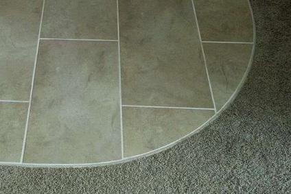 wood tile transitions carpet