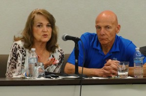 Mary Ann and Mark Dougherty answer questions