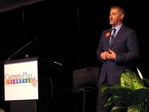 Ryan Dunn, VP Sales, CarpetsPlus COLORTILE