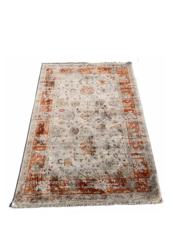 שטיח בדוגמת זילגר דגם 236 כתום
