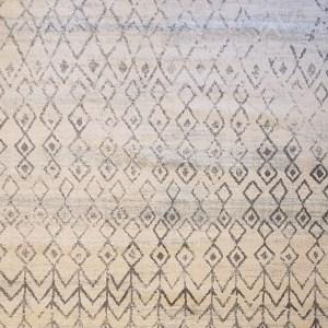 שטיח ברבר שחור לבן 08