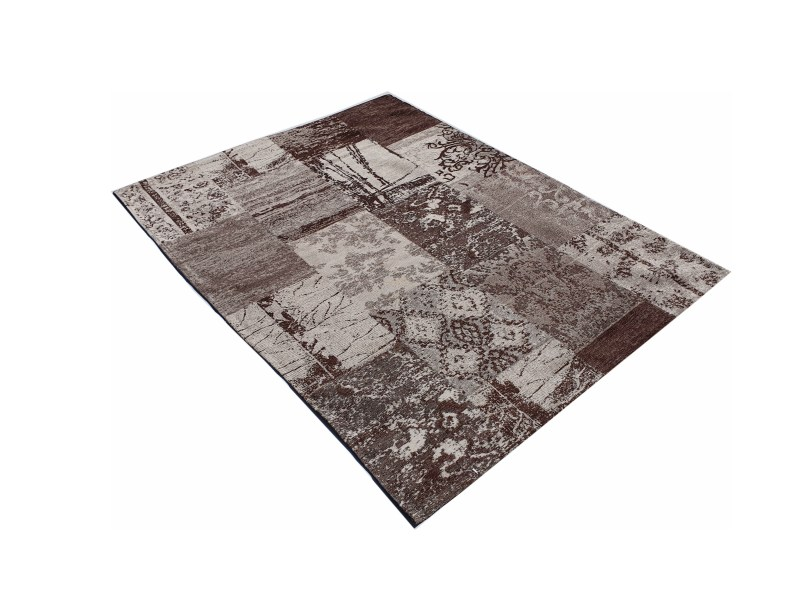 שטיח מעוצב צבע חום (3)