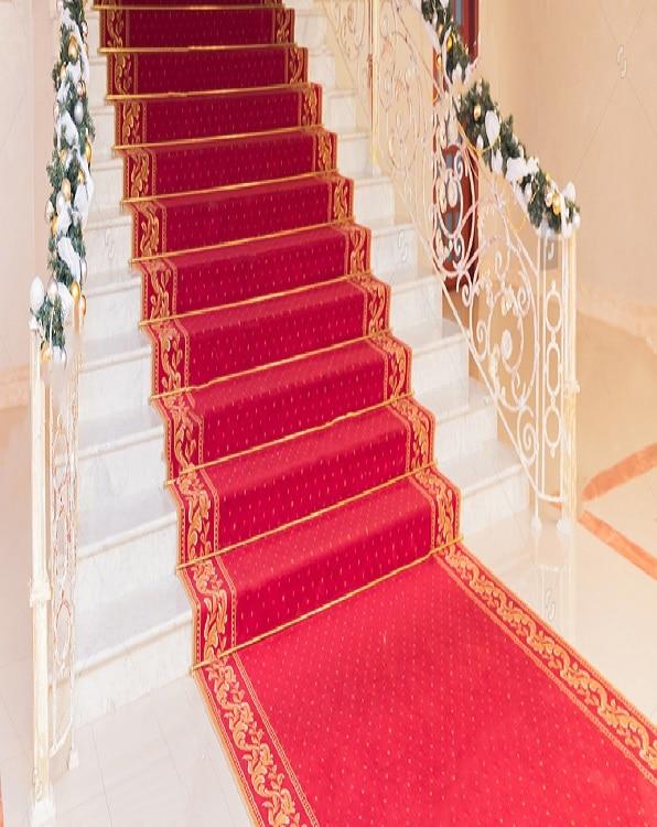 Red Stairways Carpets UAE