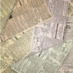 old newspapers under carpet