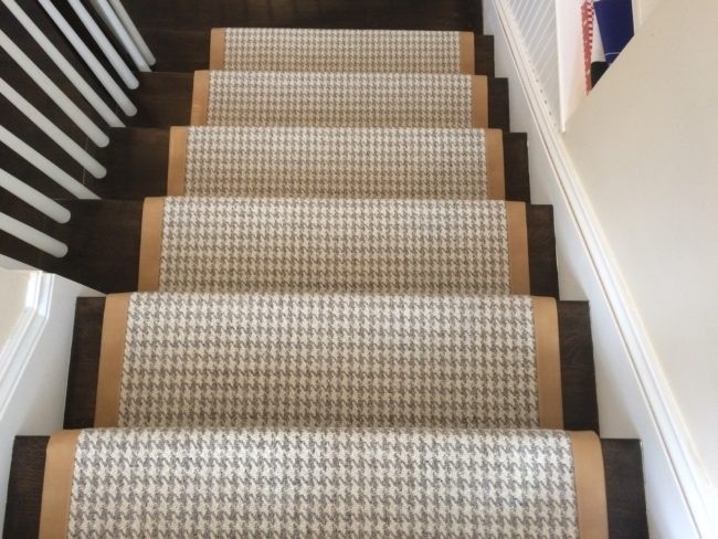 Stair Runners Everything You Need To Know Carpet Workroom   Solid Color Stair Runners   Non Slip   Rectangle   Rubber Backed   Modern Stair   Flooring