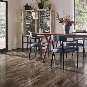 Armstrong Hardwood Flooring Dining Rooom