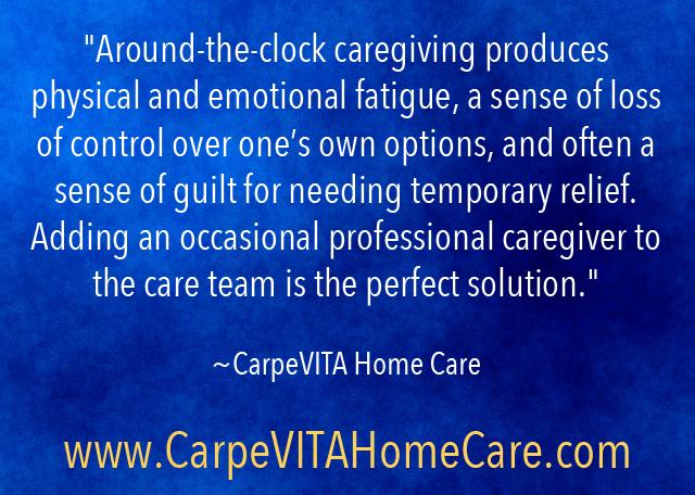 Add a caregiver Quote Image