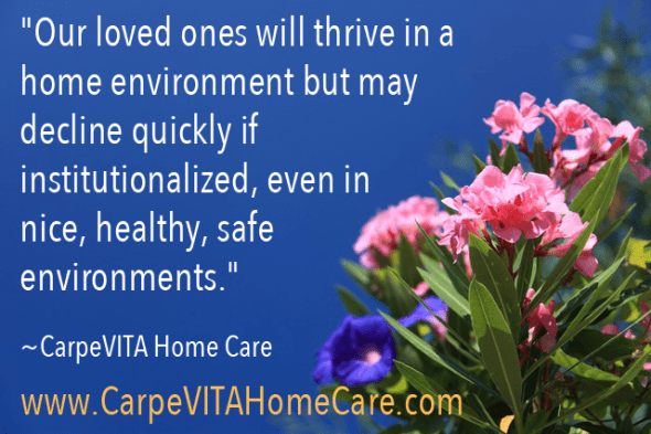 Thrive at Home Quote Image