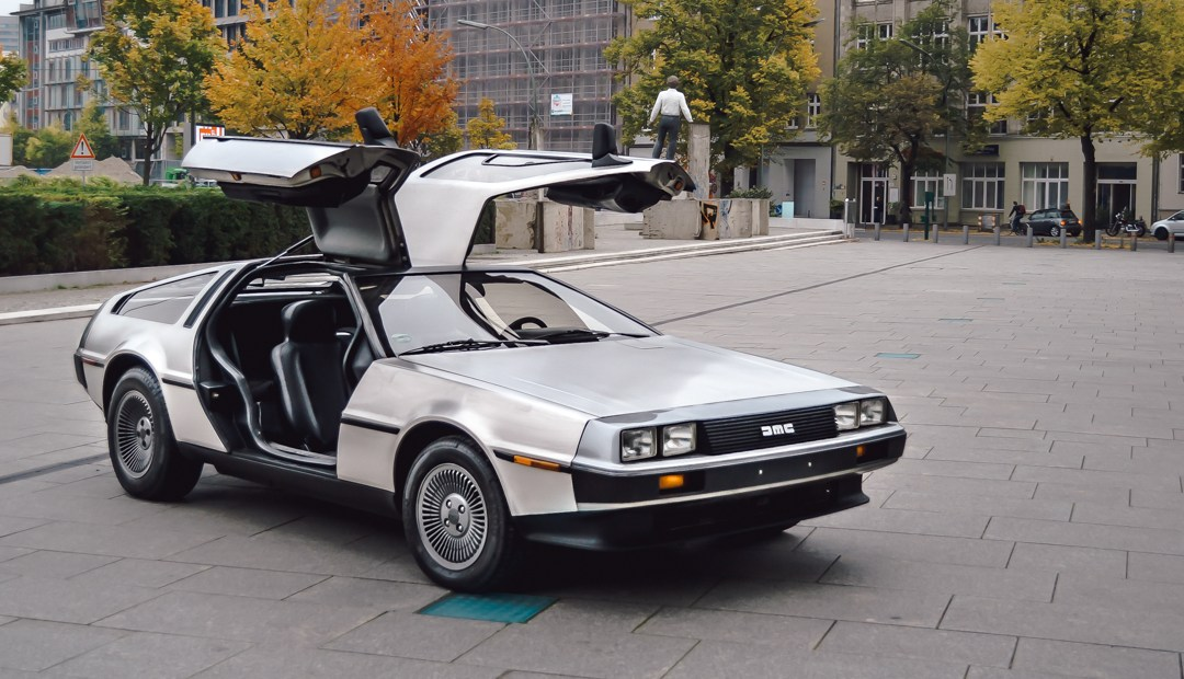 A significant coincidence with a DMC12-DeLorean