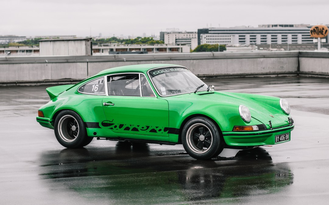 The Pleasure Of Driving A Racing Porsche: Olivier And His 1973 911 2.8 RSR In Viper Green