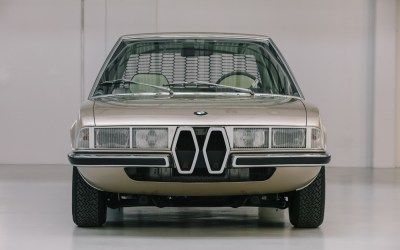 Reviving a concept car: The BMW Garmisch by Marcelo Gandini for Bertone