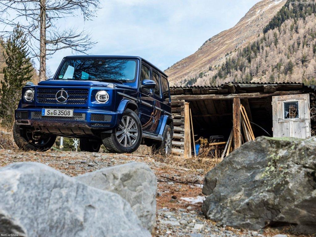 2019 Mercedes-Benz G350d
