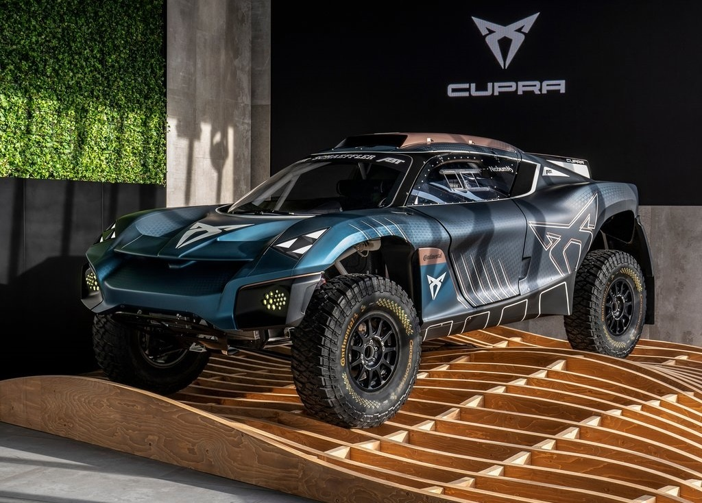 2021 Cupra Tavascan Extreme E Concept